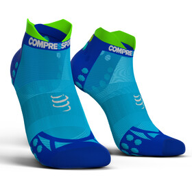 Compressport Pro Racing V3.0 UItralight Run Low Løbesokker blå